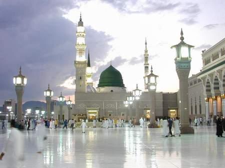 عکس هایی جدید از حرم حضرت محمد